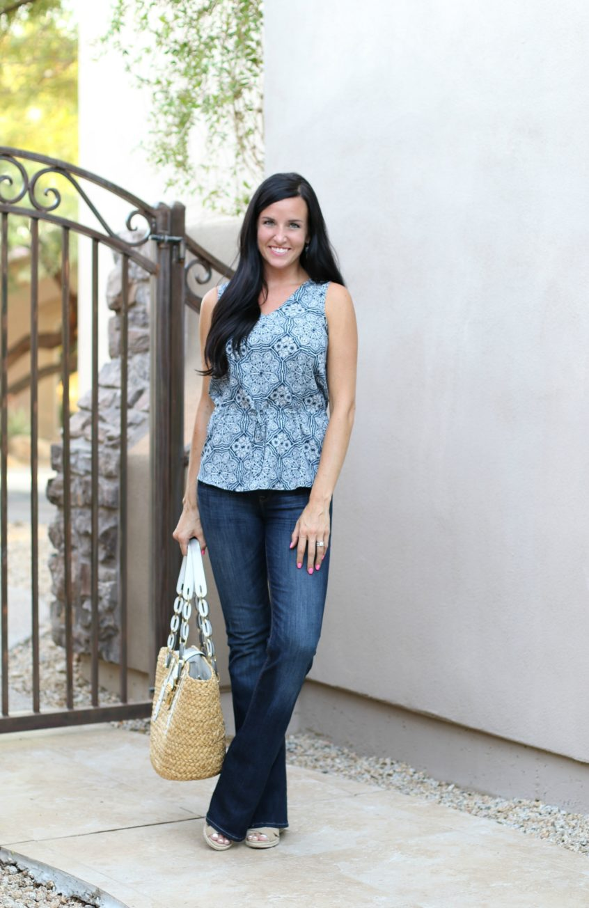 Back to School | Banana Republic Factory | Casual Friday | Teacherfashionista | Jules
