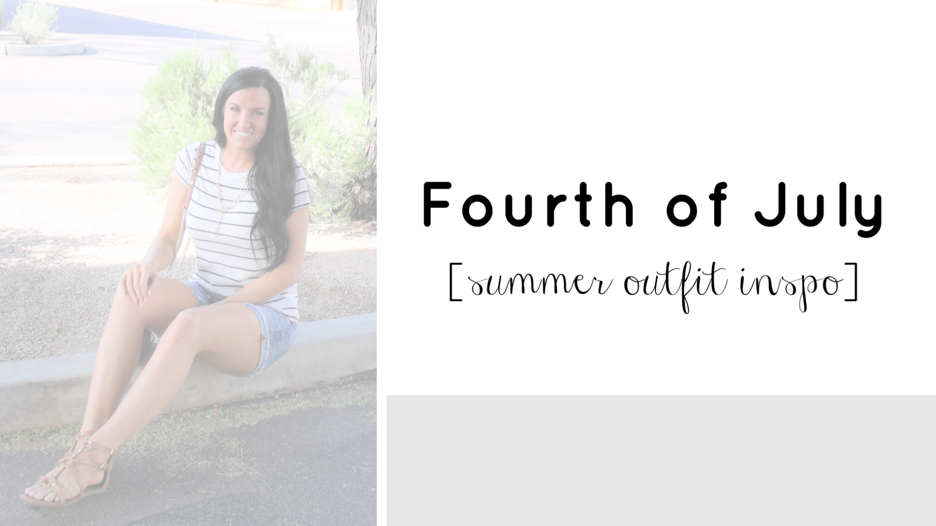 Fourth of July Outfit | Summer Outfit Inspo | Teacherfashionista