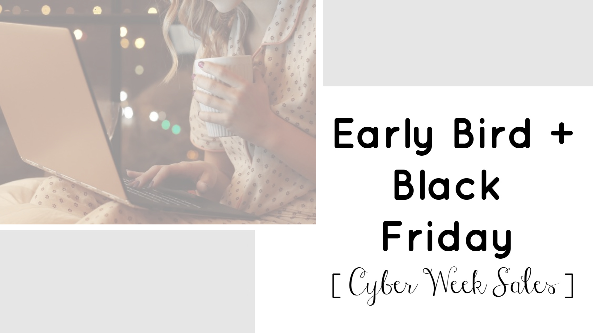 Black Friday | Doorbusters | Cyber Week | Teacherfashionista | Jules