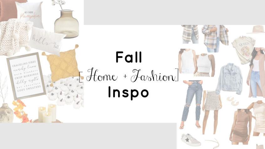 Fall Home and Fashion Inspo | Teacherfashionista | Jules