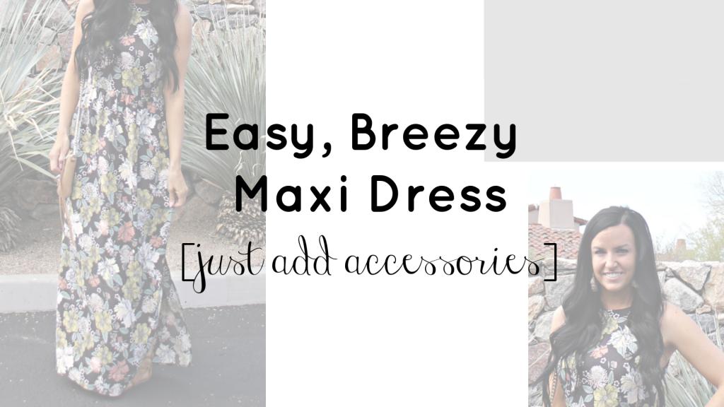 Maxi Dress | Loft Maxi Dress | Teacherfashionista | Jules