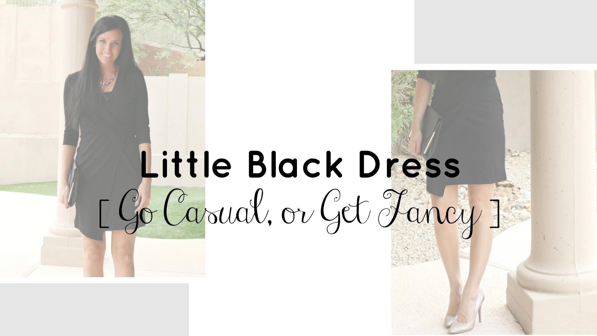 LBD Go Casual or Get Fancy | NYE Dress | Teacherfashionista | Jules