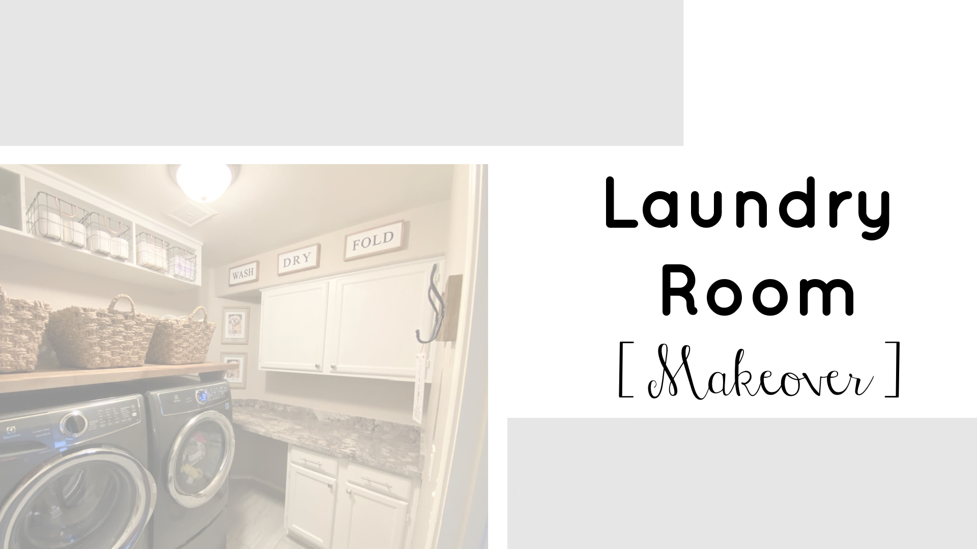 Laundry Room Makeover | Teacherfashionista | Jules