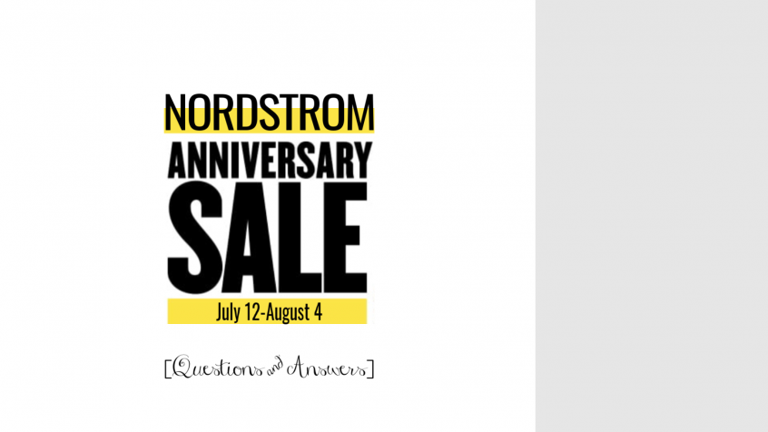 Nordstrom Anniversary Sale Q and A | Teacherfashionista | Jules