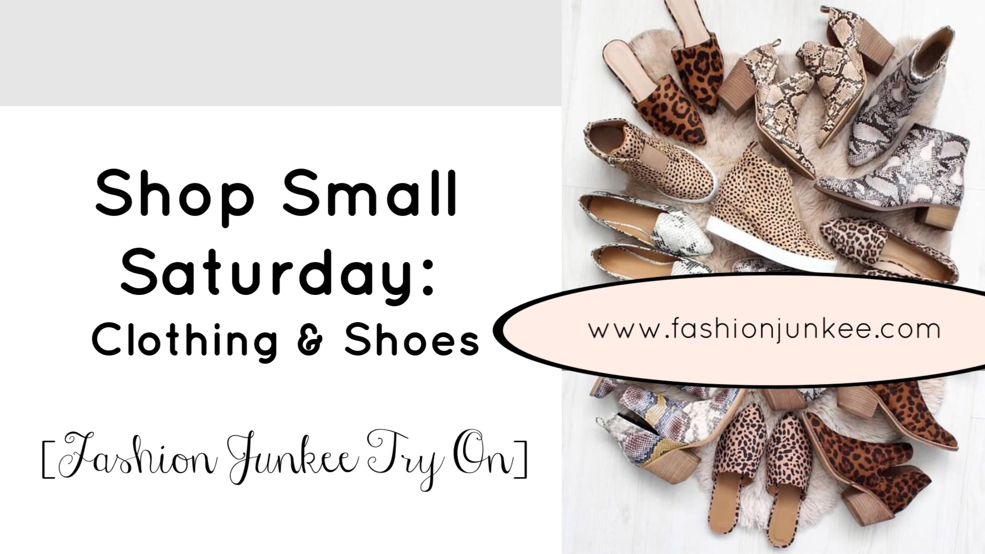Shop Small Saturday | Shoe Lover | Fashion Junkee | Teacherfashionista | Jules