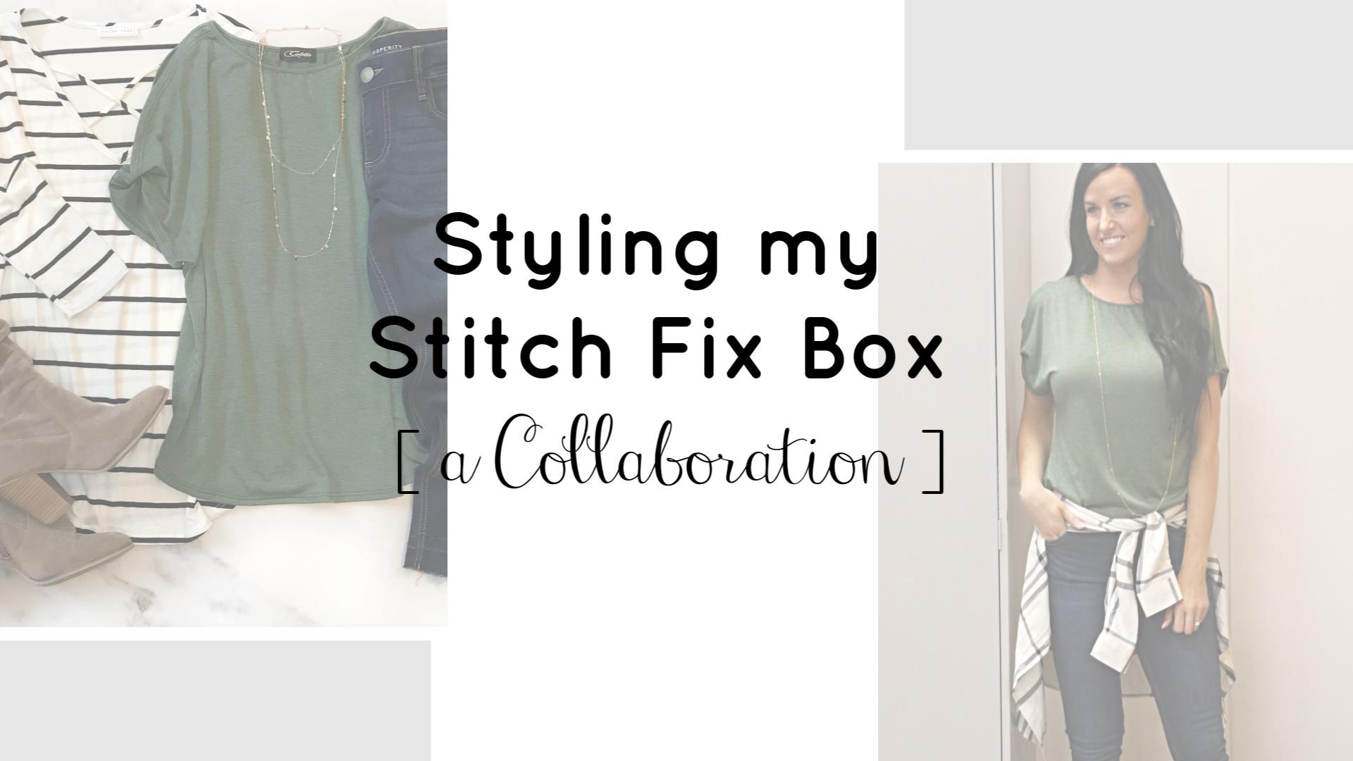 Styling my Stitch Fix Box | Teacherfashionista | Jules