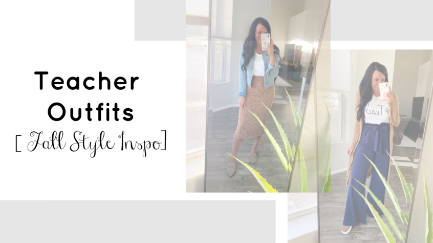 Teacher Outfits | Fall Outfit Inspo | Teacherfashionista | Jules
