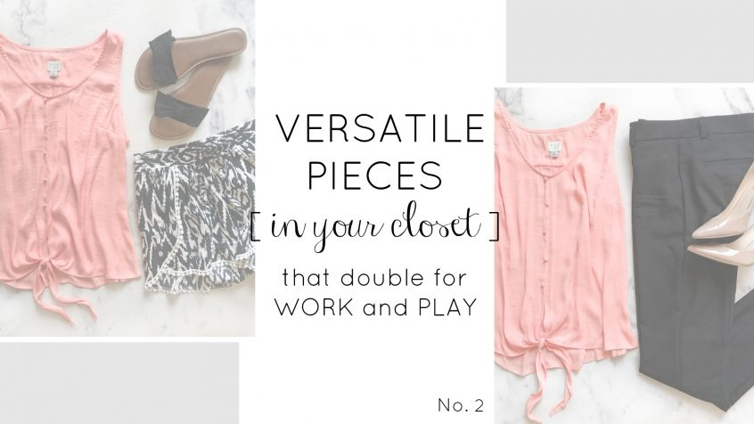 Versatile Clothes | Summer Wardrobe | Teacherfashionista | Jules