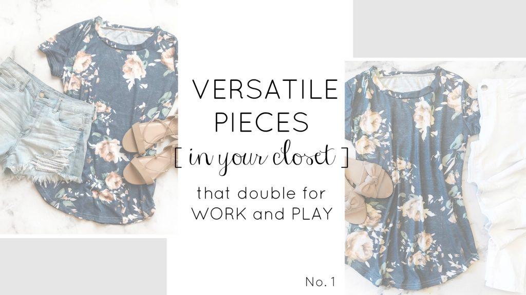 Versatile Clothes | Spring Wardrobe | Teacherfashionista | Jules