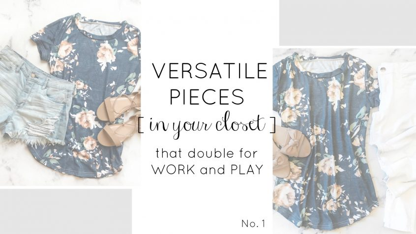 Versatile Clothes | Spring Wardrobe | Teacherfashionista | Jules