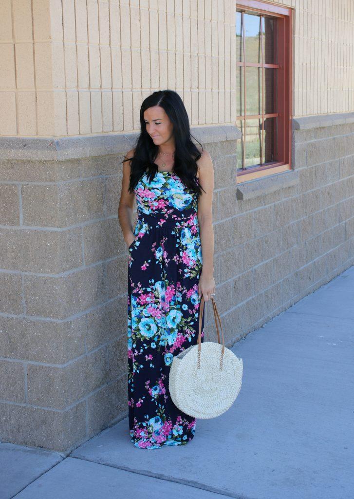 Floral Maxi Dress | Fashion Junkee | Teacherfashionista | Jules