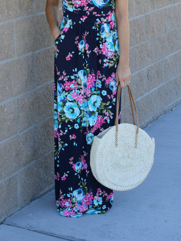 Floral Maxi Dress | Fashion Junkee | Teacherfashionista | Jules