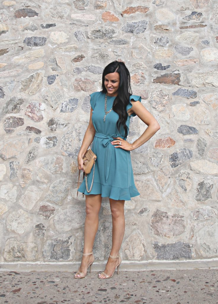 Spring Ruffles | Easter Dress | Teacherfashionista | Jules
