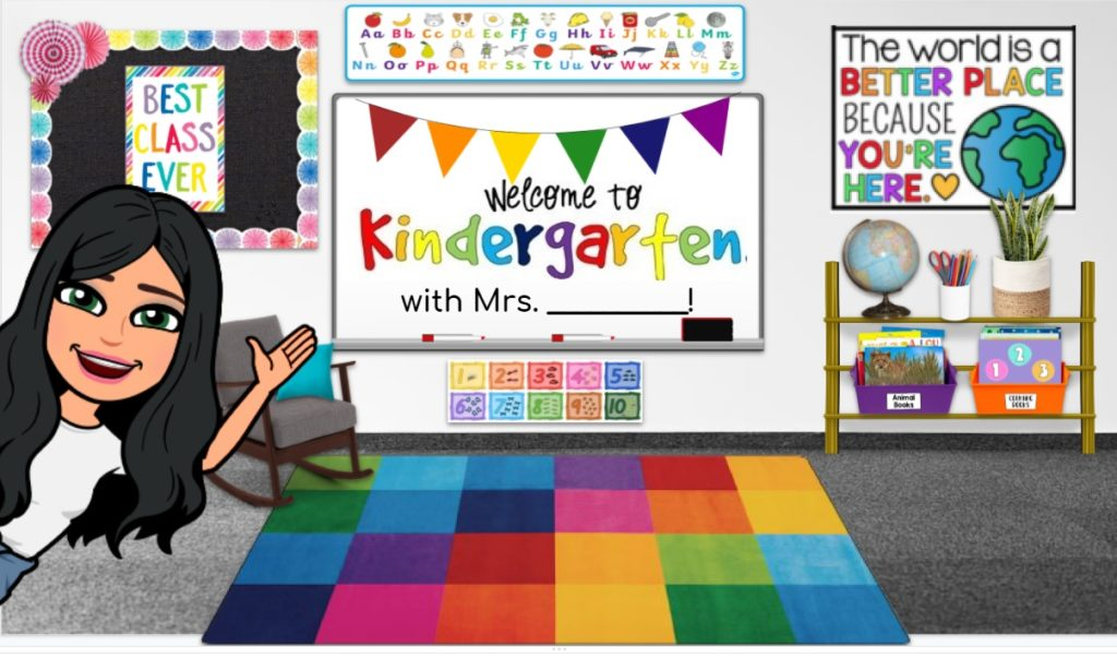 Back to School | Virtual Teaching | Week 1 Ideas | Teacherfashionista | Jules